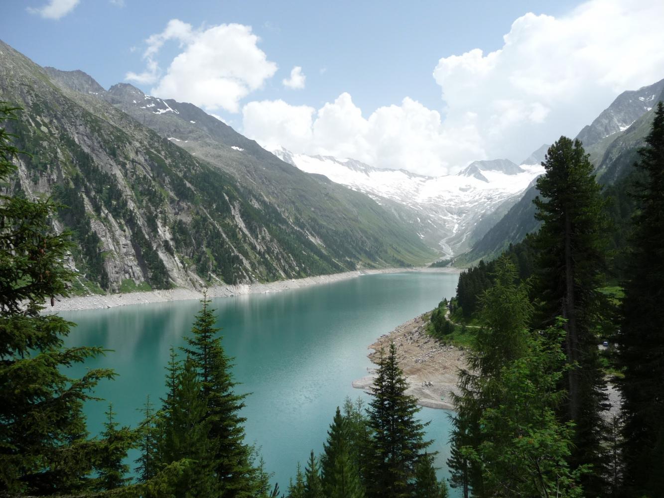 Обои австрия, alps, тироль, austria, tirol, Lake plansee, озеро планзее. Пейзажи foto 3